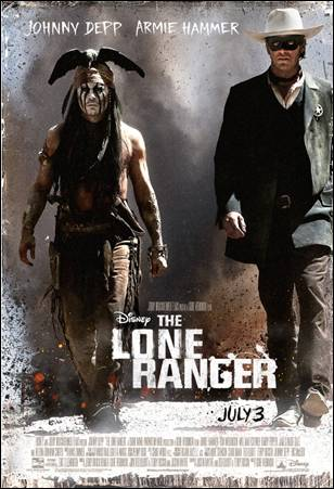 The Lone Ranger: Johnny Depp!