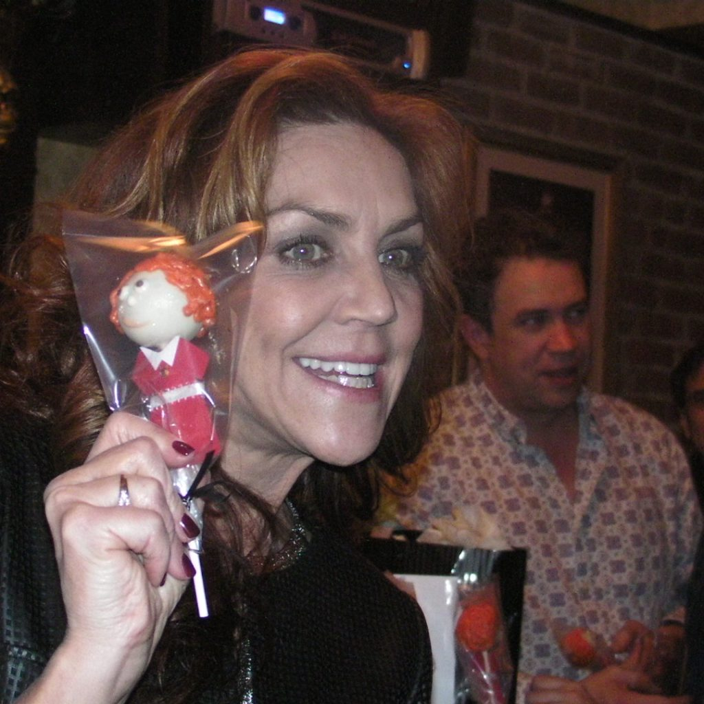Andrea McArdle's Birthday Party.