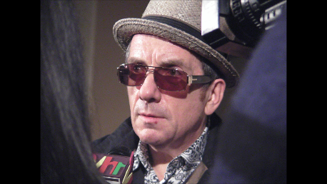 Performance by Elvis Costello and Interview!