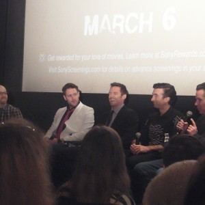 """""""Chappie""""- Chat With The Cast Part 1. ( Hugh Jackman) 1"""