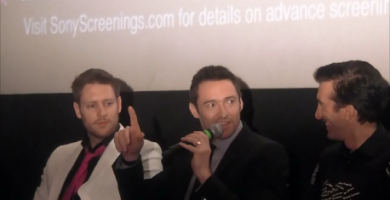 """""""Chappie""""- Chat With The Cast Part 1. ( Hugh Jackman)"""