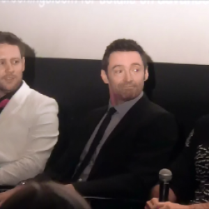 Chat With The Cast Of Chappie. (Hugh Jackman part 1) 2
