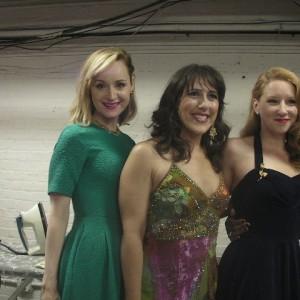 Erin Davie, Farah Alvin and Molly Pope