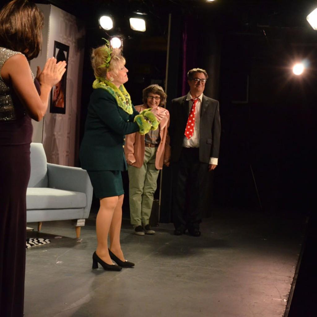 Rita McKenzie, Center Stage