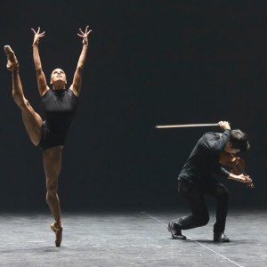 Misty Copeland's beautiful and funny dance.