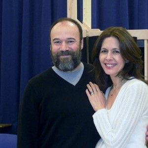 Danny With Jessica Hecht