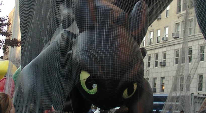 2015 Macy's Thanksgiving Parade Balloon Inflation.
