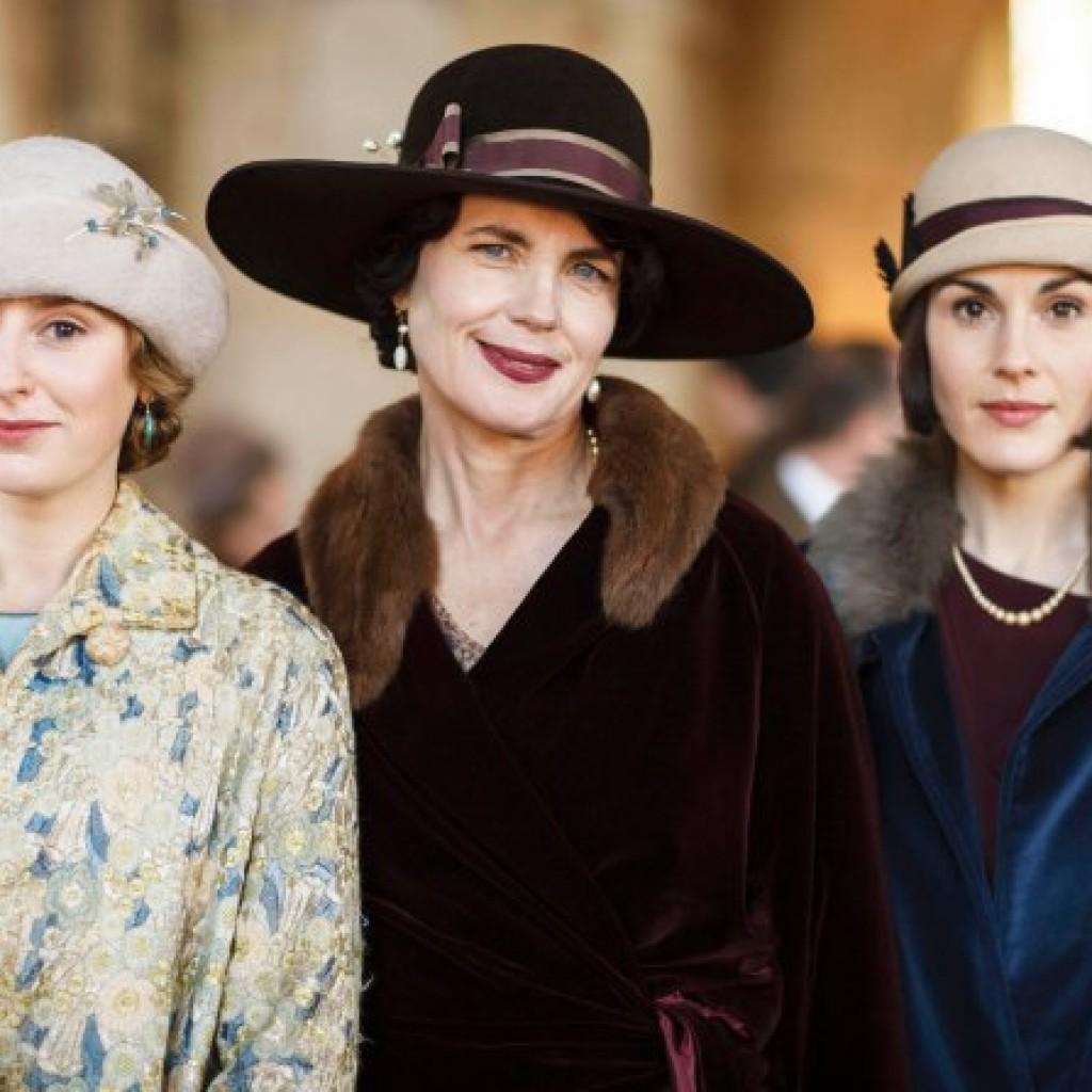 Season Finale of Downton Abbey.