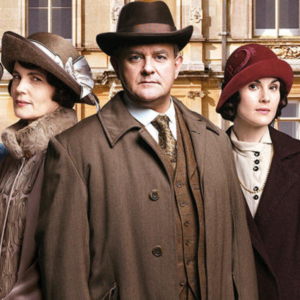 Season Finale of Downton Abbey. 1