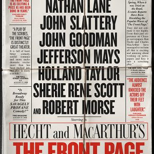 """THE FRONT PAGE"" 1"