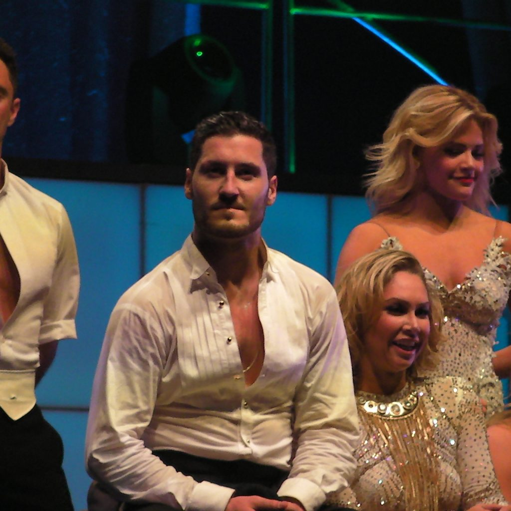 Dancing With The Stars-Sasha Farber Burned The Floor!
