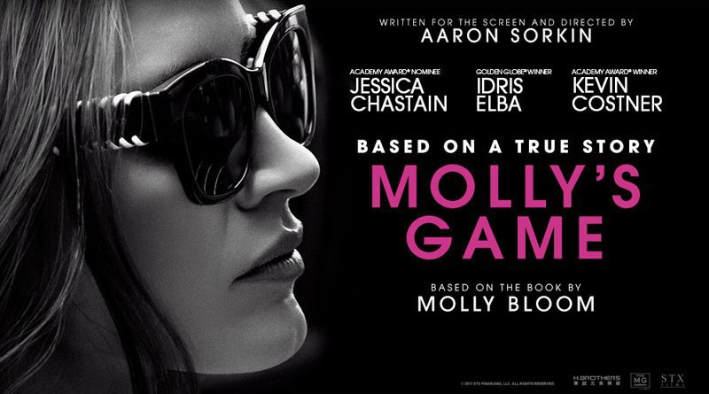 "Review: ""Molly's Game."" 1"