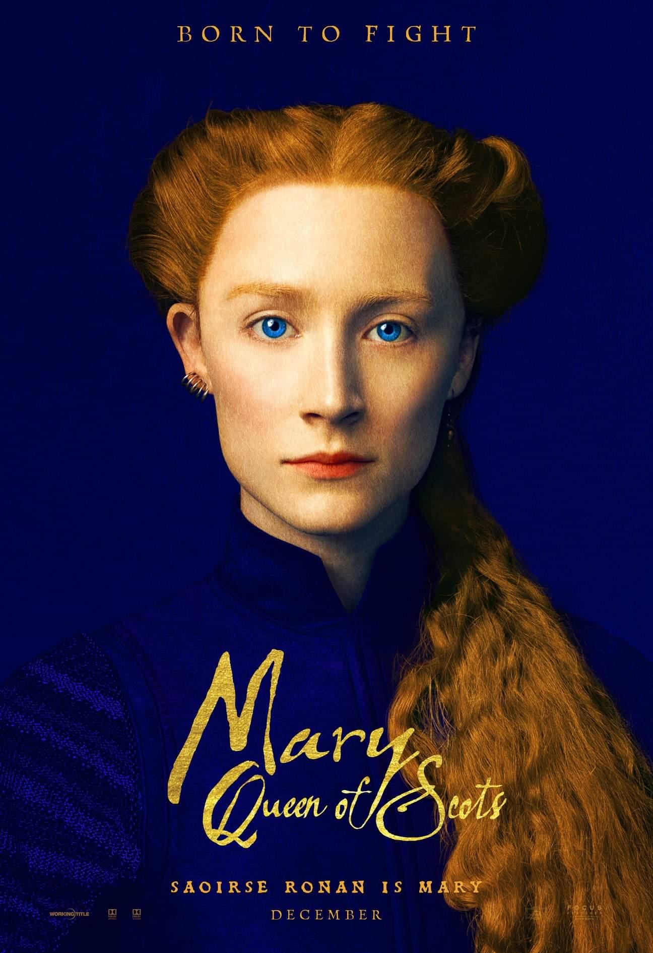 SAORISE RONAN- MARY QUEEN OF SCOTS.