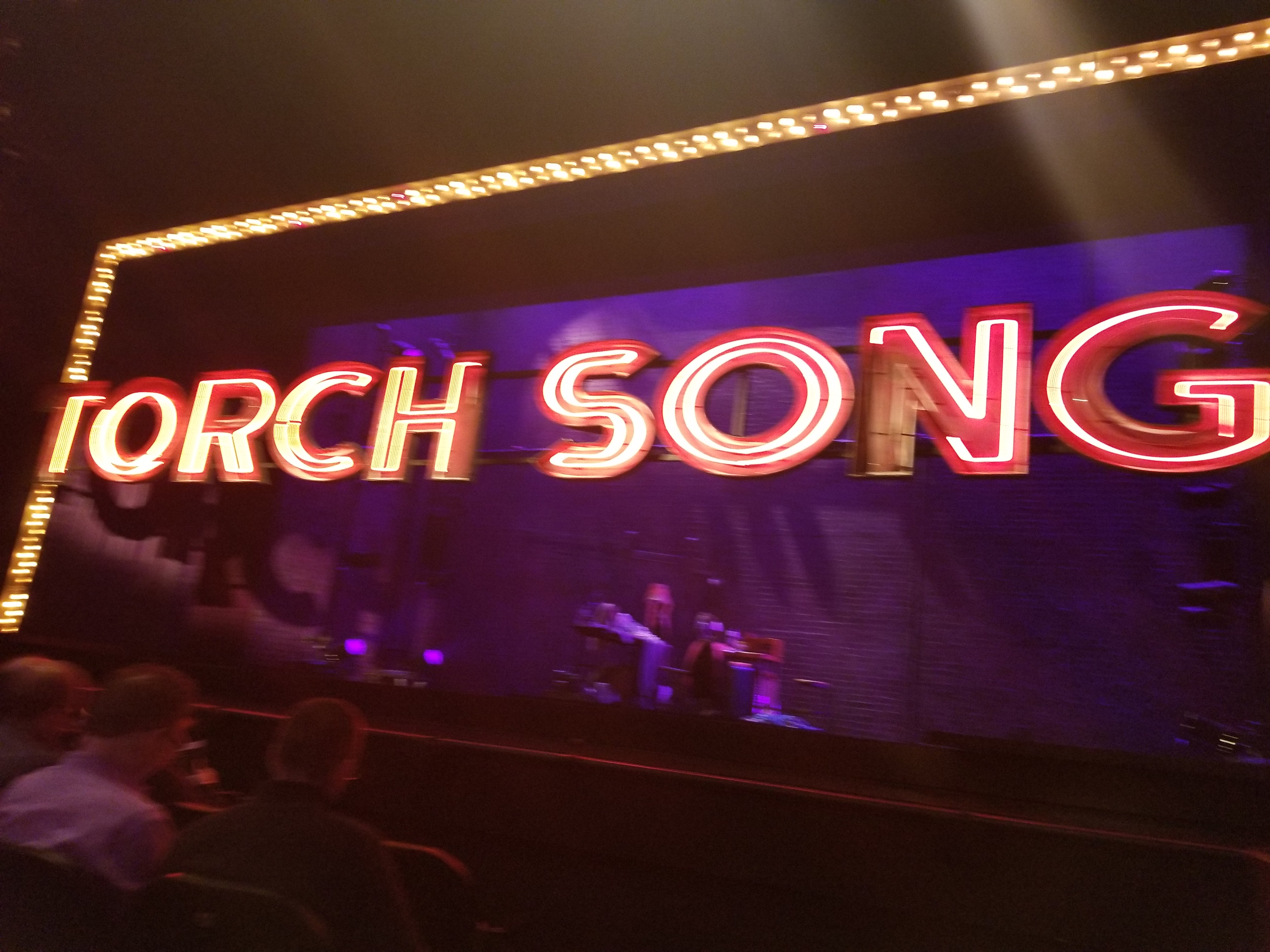'TORCH SONG' On Broadway. 1