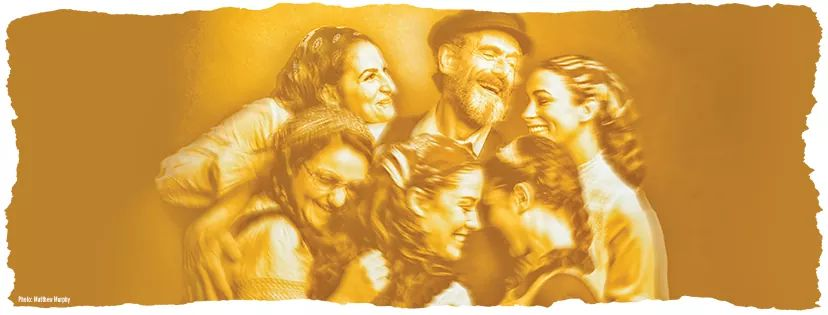 FIDDLER ON THE ROOF IN YIDDISH.