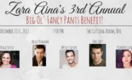 Bryce Pinkham & Lucas Caleb Rooney Host Zara Aina Benefit at The Cutting Room 12/21.