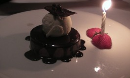 The Leopard at des Artistes. ( Chocolate Nutella Mousse)