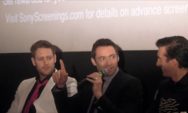 """Chappie""- Chat With The Cast Part 1. ( Hugh Jackman)"