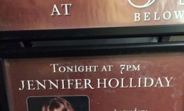 Jennifer Holliday At 54 Below.