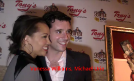 The Stars Come Out To Tony's Di Napoli To Celebrate Michael Urie!