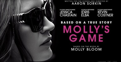 """Review: """"Molly's Game."""""""